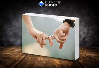 10x15cm Photo Block incl. Nationwide Delivery - Options for Two or Three