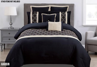Seven-Piece Comforter Set - Three Sizes & Styles Available