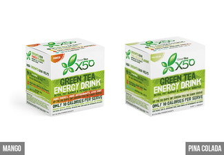 $59 for 60 Sachets of Greentea X50 - Available in Six Flavours
