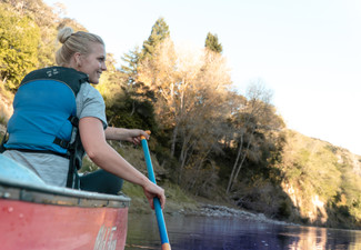 Three-Day Guided Canoe Adventure Down the Whanganui River for One Adult incl. Accommodation, Experienced Local Guide, All Meals & Bridge to Nowhere Walk - Options for Child & Four or Five Days