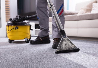 Carpet Steam Clean for a One-Bedroom Home - Options for up to Five Bedrooms
