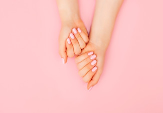 Gel/ Shellac Manicure for One Person - Options for Gel/ Shellac Colour Only or SNS Dipping Powder Manicure with Colours, French, Pink & White, Ombre or on Tips