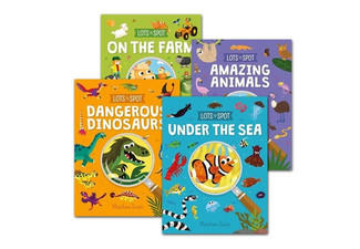 Four-Pack of Lots To Spots Activity Books