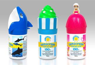 $38 for Two 75ml Bottles of SPF50+ Funscreen Sunscreen