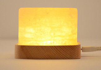 Natural Himalayan Salt Mini USB Light - Option for Two