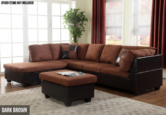 Three-Piece Sandra Corner Sofa Set - Two Colours Available
