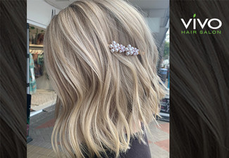 Full Head of Foils incl. Colour-Lock Treatment, Toner, Shampoo Service, Head Massage, Style Cut & Blow Dry Finish