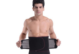 Self-Heating Lower Back Brace Belt - Four Sizes Available