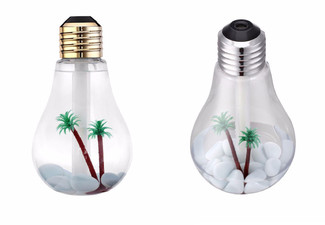 USB Bulb Humidifier - Two Colours Available with Free Delivery