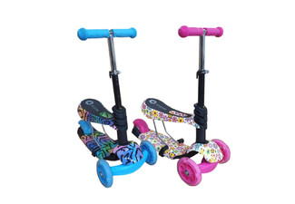 Two-in-One Scooter - Two Colours Available