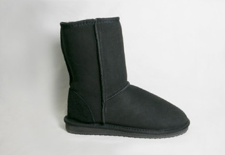NZ Made Napier Short Boots Black - Nine Sizes Available