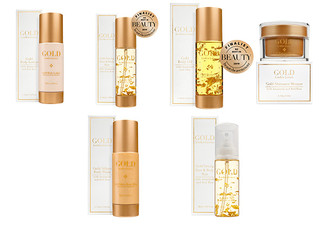 Linden Leaves Gold Skincare Range - Seven Options Available