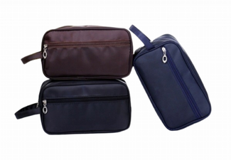 Water-Resistant Travel Cosmetic Bag - Three Colours Available & Option for Two with Free Delivery