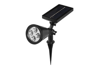 Solar-Powered Multi-Coloured 