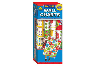 Set of Four School Zone Wall Charts