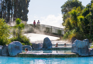 Thermal Hot Pool Entry for One Adult (14 Years & Over) at Wairakei Terraces