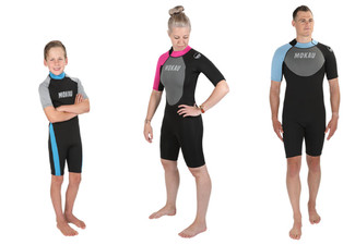 Mokau Spring Wetsuit Range - Options for Kids & Adults Sizes