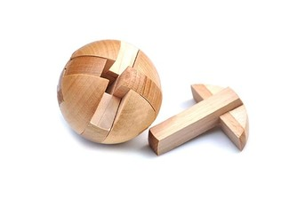 Wooden Puzzle Ball - Free Delivery