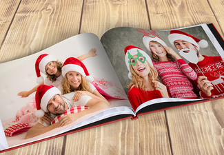20-Page Hard Cover Photo Book 20 x 28cm incl. Nationwide Delivery