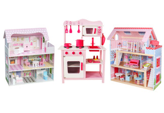 Wooden Playhouse Range - Three Options Available