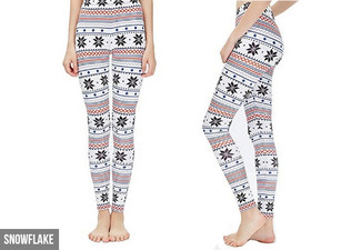 Christmas Leggings - Five Styles Available