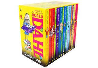 $59.99 for a Set of 15 Roald Dahl Books