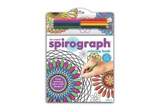 Spirograph Colouring Book