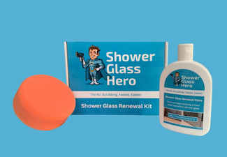 Shower Glass Restoration DIY Kit with Free Delivery