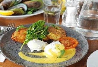 $40 Brunch & Lunch Dining Voucher for Two to Three People - Option for Four to Five People