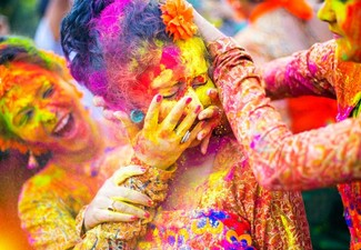 Per-Person, Twin-Share Six-Night India Golden Triangle Tour During the Holi Festival of Colours 2019 incl. Accommodation, Transfers, Sightseeing, Excursions, Holi Celebrations & Culture Celebrations