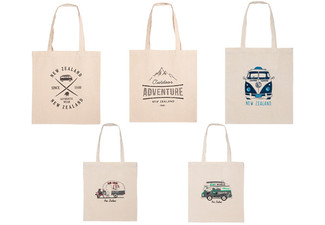 Kiwi Canvas Bag - Five Styles Available