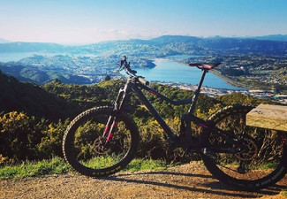 Two-Hours of Mountain Bike for Two People incl. Two Bagels & Drinks - Options for up to Eight People & E-Bike Hire