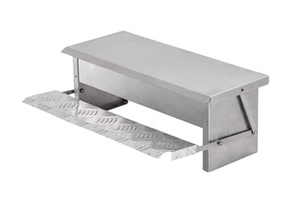 Aluminium Chicken Feeder - Two Sizes Available