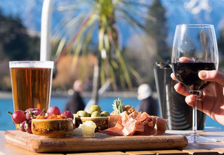 Two Meat & Two Cheese Board incl. Two Wines or Tap Beers for Two People - Option for Four People