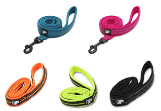 Reflective Dog Leash - Five Colours Available