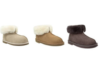 Comfort Me Unisex 'Numbat' Memory Foam Classic UGG Slippers - Three Colours Available