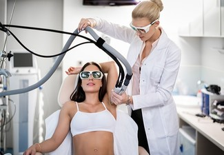 Six IPL Underarm Treatment Sessions - Options for Full Leg, Chest or Back