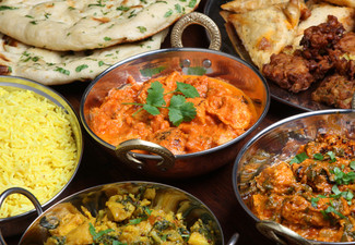 $30 Indian Food & Beverage Voucher - Valid for Dine-In or Takeaway