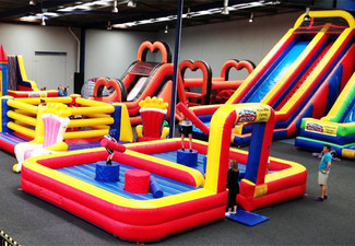 After Hours 40+ Private Hire of Auckland's Largest Inflatable Playground Between 5:30pm - 8:30pm