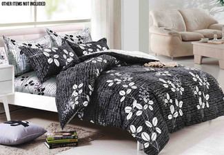 Three-Piece Reversible Duvet Cover Set with Free Delivery