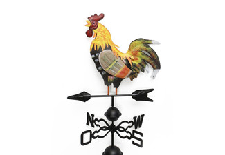 Colourful Rooster Weather Vane with Free Delivery