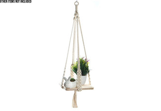 Indoor Hanging Decorative Planter Shelf - Option for Two