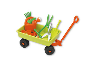Summertime Kids Play Trolley with Garden Set