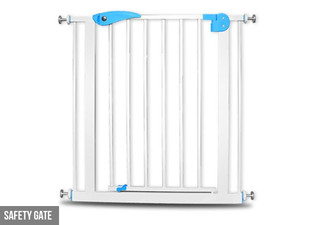 $49 for a Baby or Pet Safety Gate Barrier - Extensions Option Available