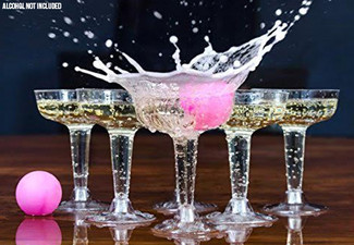 Prosecco Pong with Free Delivery