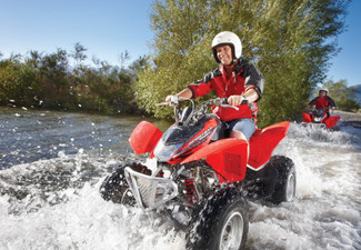 Hanmer Springs Quad Biking Experience for One Adult - Option for Child