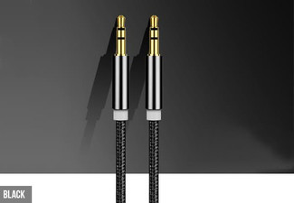 Two Audio Cables - Four Colours Available