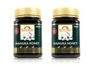 Nelson Manuka Honey 100+MG 500gm - Options for up to 10 with Free Delivery