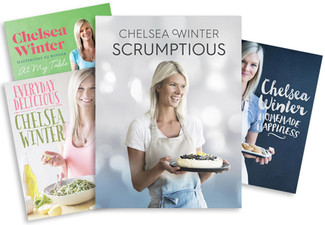 $34.99 for a Chelsea Winter Cookbook - Four Options Including the New 'Scrumptious'