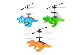 Dinosaur Sensor Helicopter - Four Options & Three Colours Available with Free Delivery